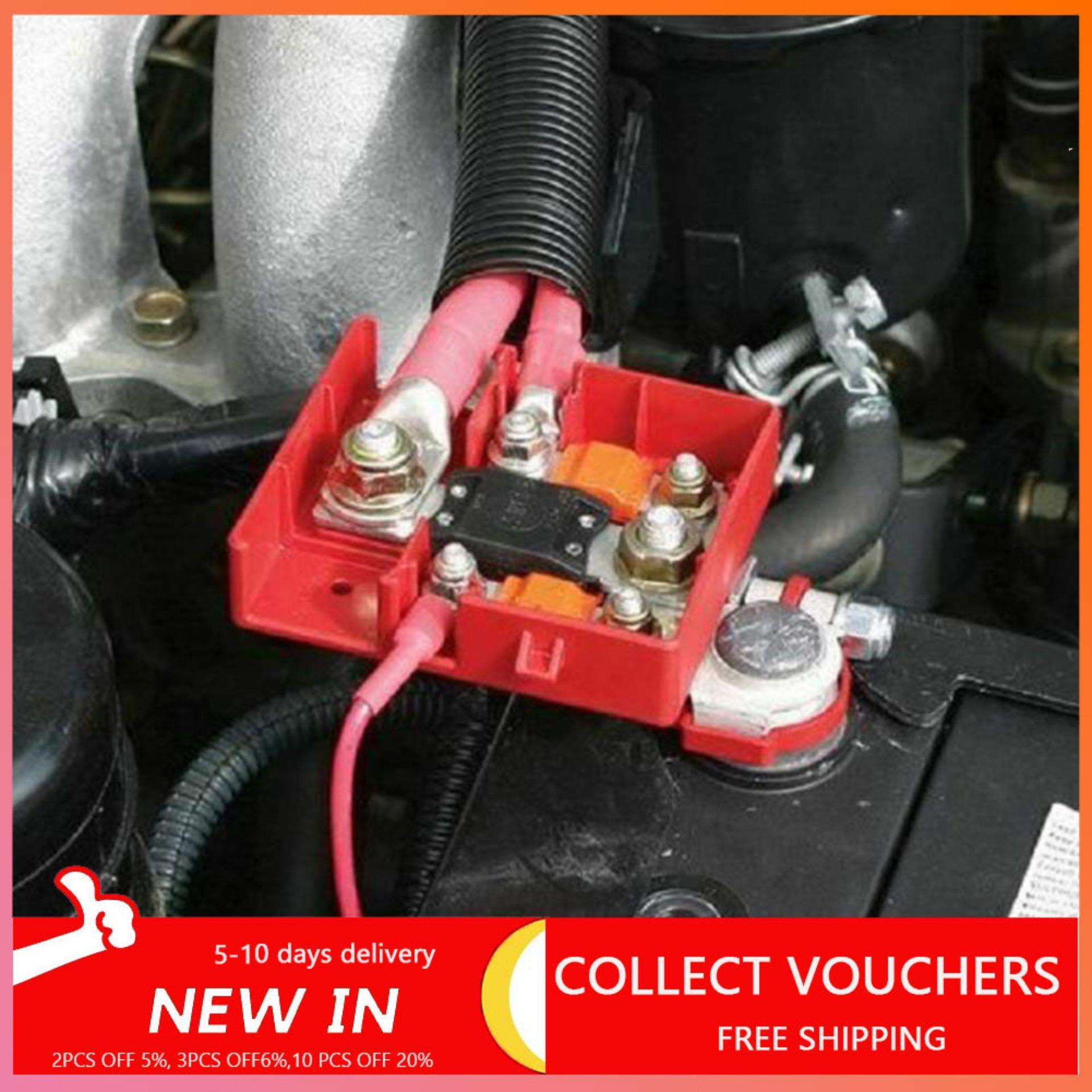 Battery Distribution Terminal,Car Caravan 32V 400A Quick Release Fused Battery Distribution Terminals Clamps Connector