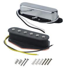 Vintage Alnico 5 Electric Guitar Single Coil Pickup Tele Bridge & Neck Pickup Alnico V Tele Pickups Set Guitar Parts