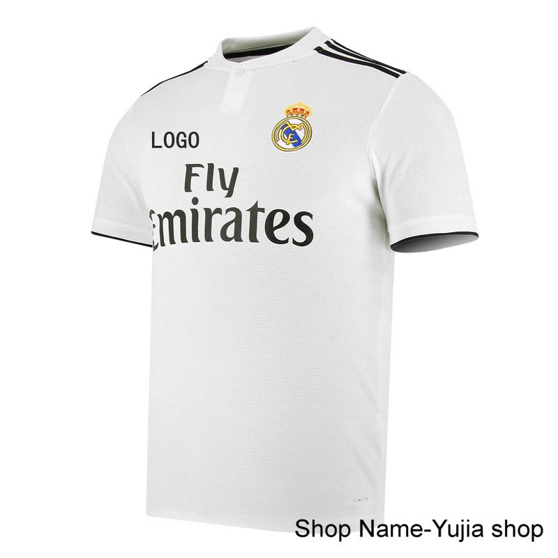 21f8dd1a0 1819 Best Quality Real Madrid HOME AWAY TNIRD Soccer Jersey Football Jersey -intl