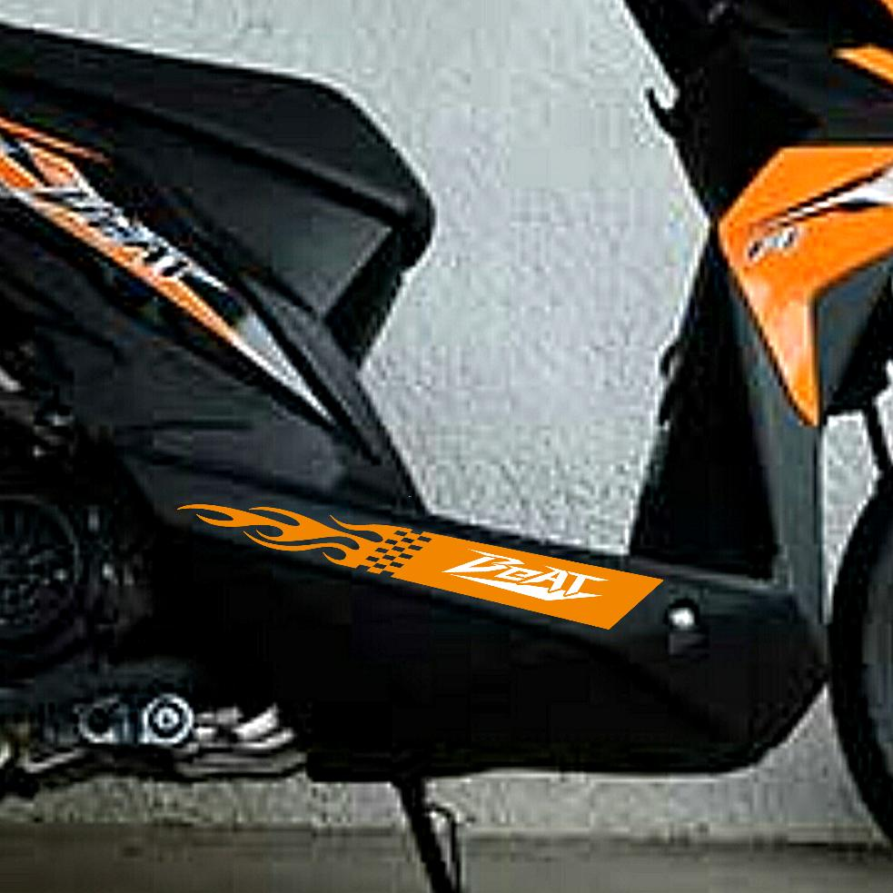 Sticker only honda beat fi side sidebangka decal sticker