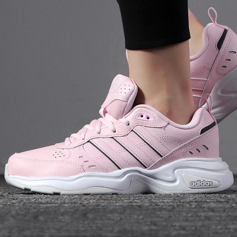 Adidas Giầy Nữ Mùa Đông Mẫu Mới Giầy Thể Thao Trang Web Chính Hãng Giày Màu Hồng Giảm Sốc Giầy Chạy Bộ EG6225