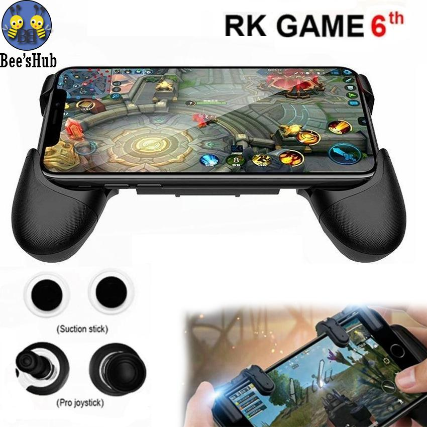 RK GAME 6Th Touch Screen Mobile Gamepad Stylish and Portable With Suction Stick And Pro JoyStick