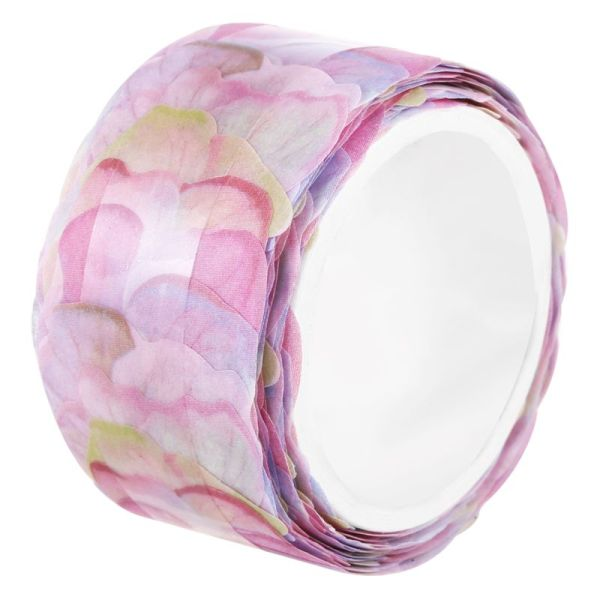 Mua 200PCS/Roll Masking Scrapbook Sticker Sticky Paper Flower Petals Tape Washi Tape