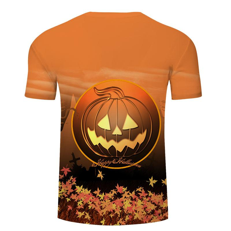 be6087e87 Halloween pumpkin graphic t-shirt fashion funny tops grunge party style  casual tees holiday gift tumblr t shirt | Lazada PH