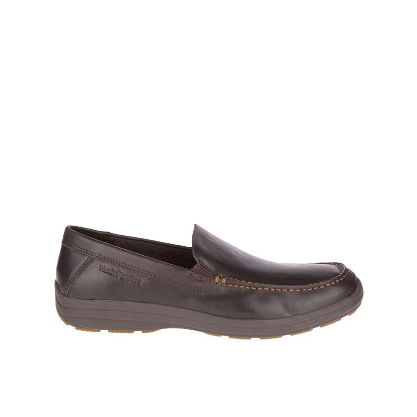 Hush Puppies Brevis Patterson Dark Brown Leather Casual Lazada Ph