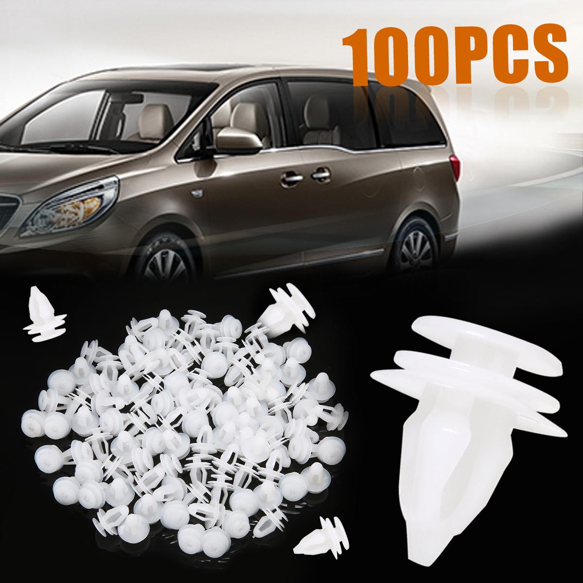 60 Interior Door Trim Plastic Panel Retainers Clips Kit Ford CAR /& VAN