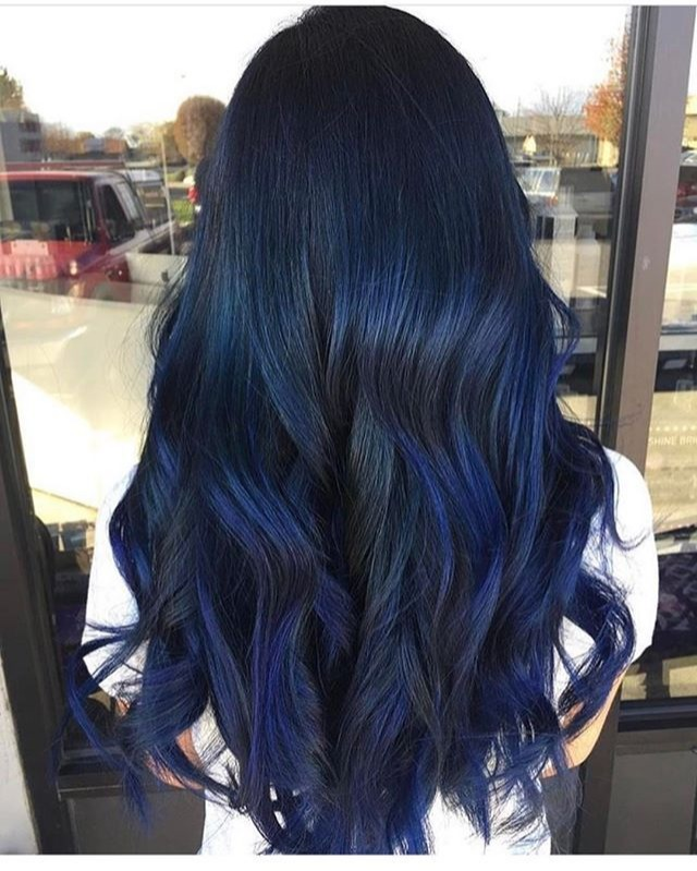 Dark Blue Midnight Blue Hair Coloring Permanent Blue Hair Color 0.88 Blue  Fashion Hair Color | Lazada PH