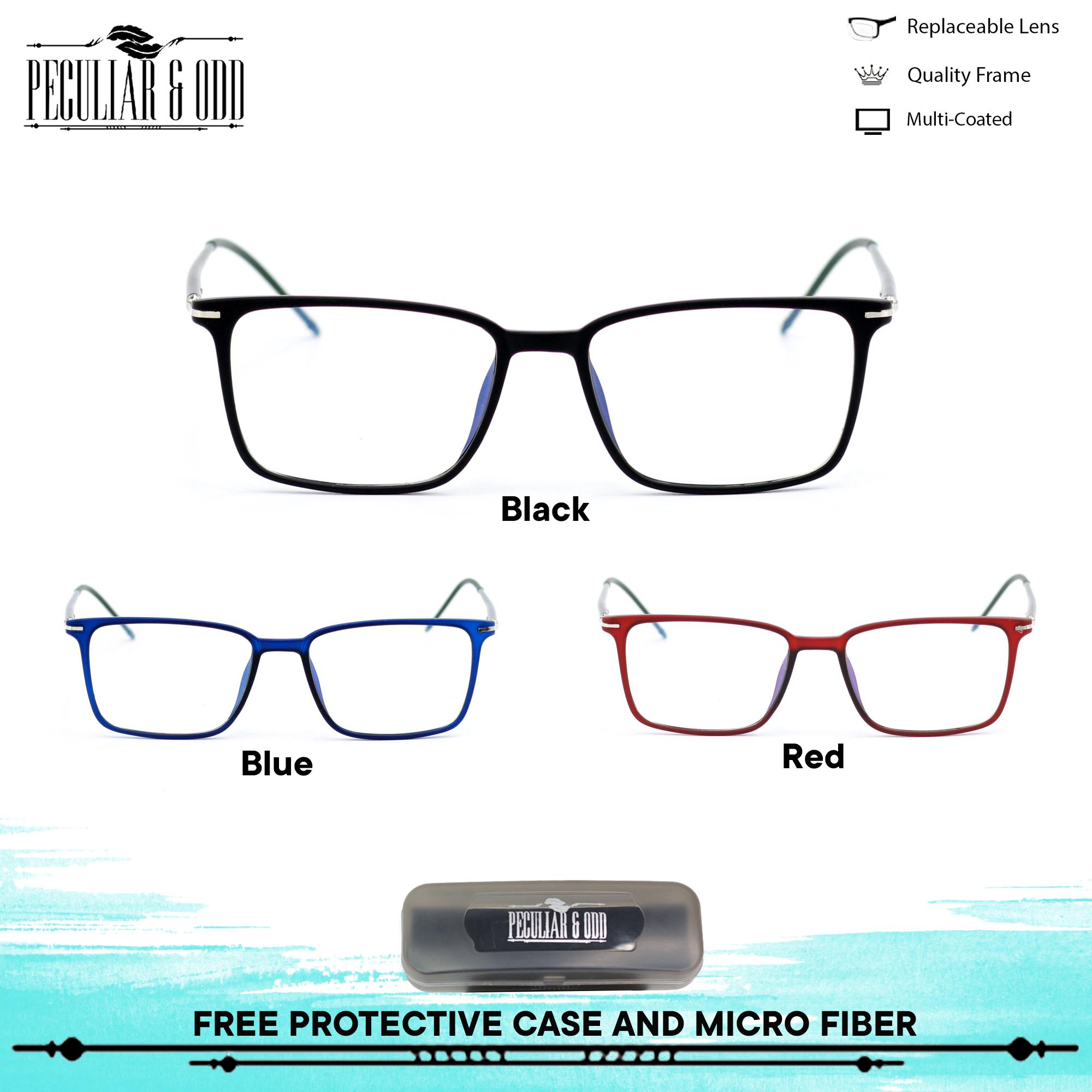 334535536d Peculiar Square Multicoated Eyeglass 122 Flexible Computer Glasses  Replaceable Optical Lens Unisex Eyewear