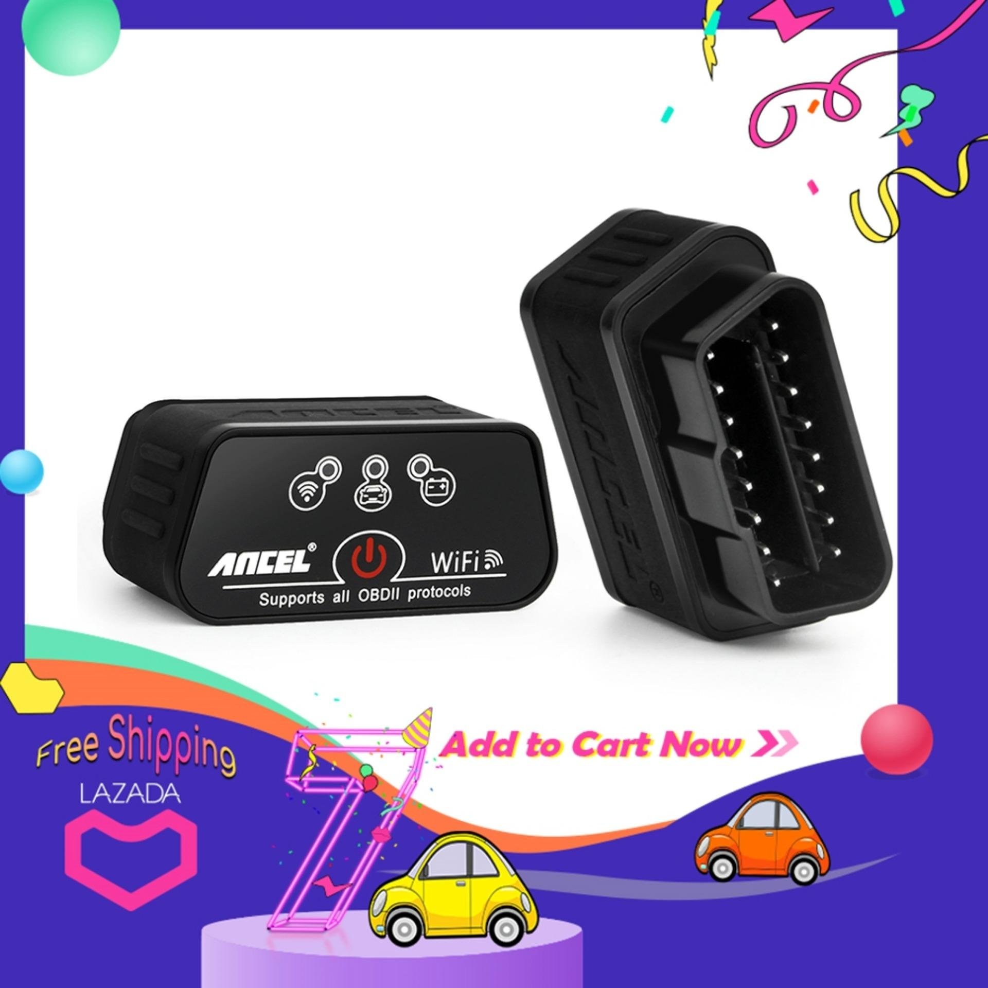Ancel Icar2 Wifi Obd2 Diagnostic-Tool Elm327 Mini Wifi Obd 2 Scanner For Android/pc/ios Code Reader High Version Better Than Many Car Fault Detector Car Diagnostic Scanner Tool Like Elm 327 Elm327 By Obdspace Store.