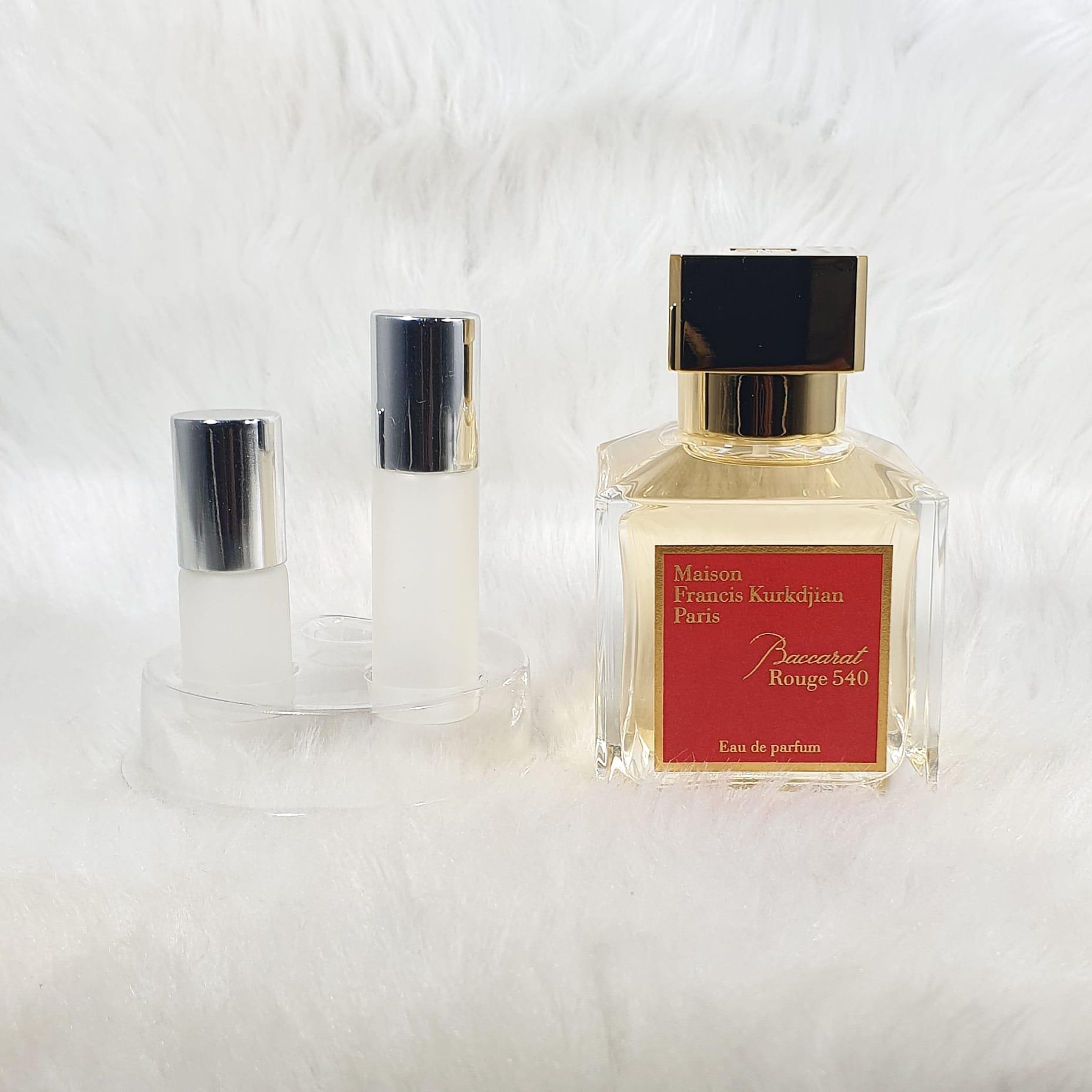 Mfk Baccarat Rouge 540 Eau De Parfum 3ml 5ml 10ml Original Perfume Decant Lazada Ph
