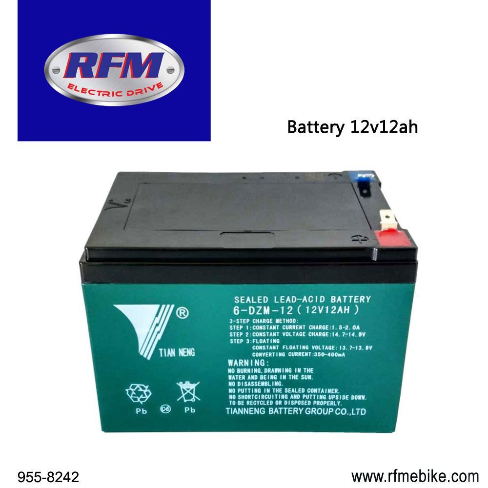 RFM Battery Tianneng Lead Acid/Gel Type 12Volt 12AH