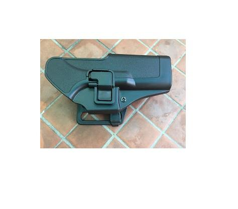 glock 17 18 19 tactical belt holster polymer with retention lock adjustable  position angle right hand