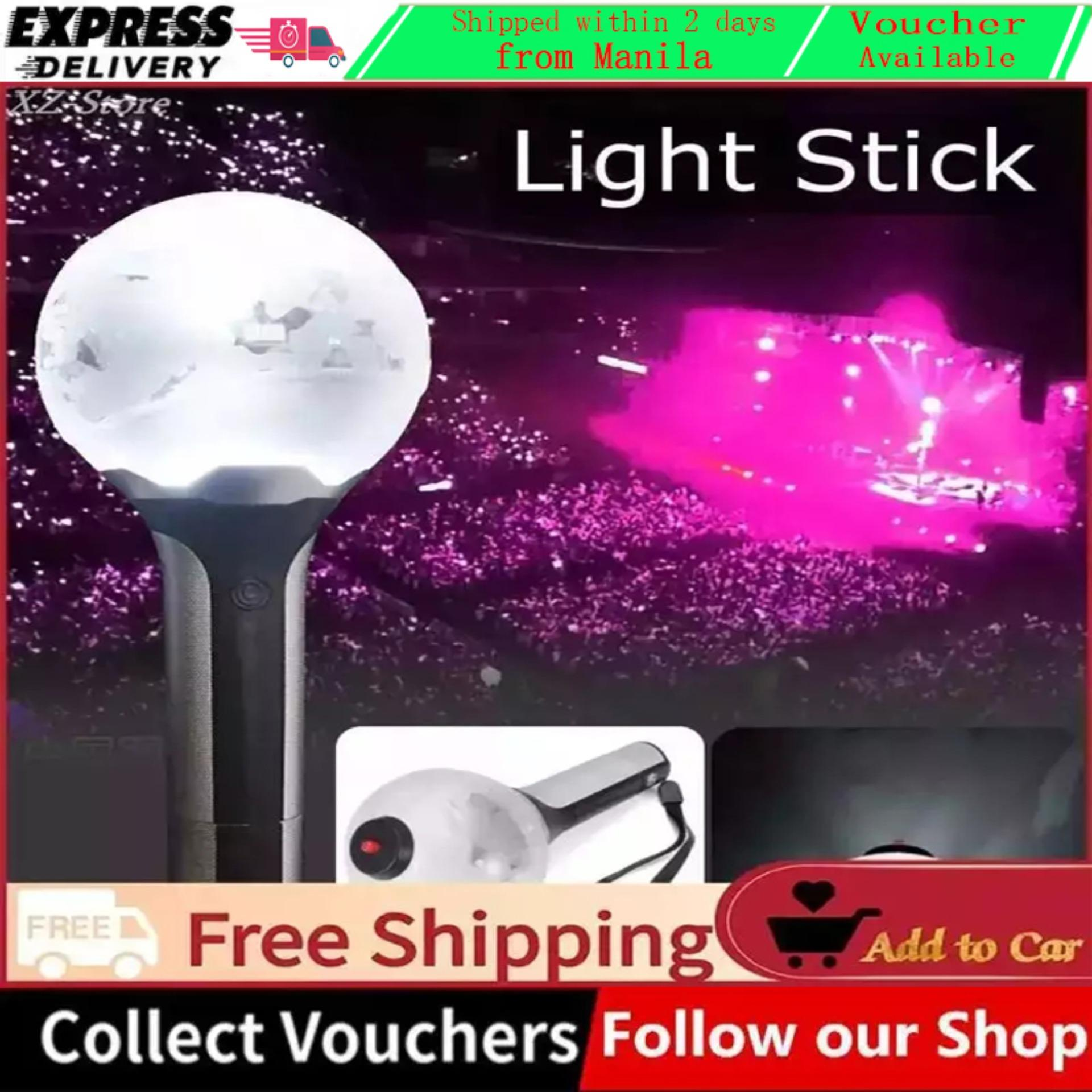 [Ready Stock] KPOP BTS ARMY Bomb Light Stick Bangtan Boys Group Concert  Lamp Lightstick Hot - intl
