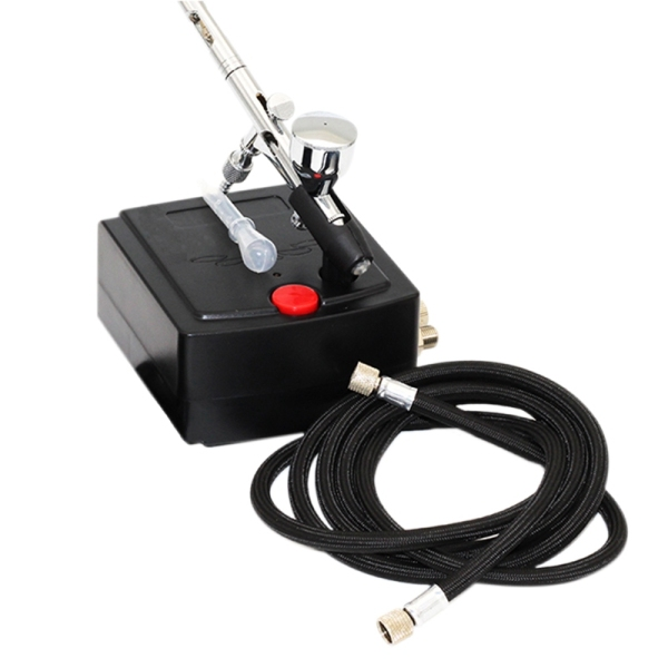 Dual Action Airbrush Air Compressor For Art Painting Manicure Craft Cake Spray Model Air Brush Nail Tool Set Spray Tool Us Plug