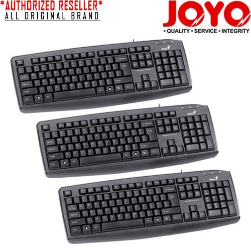 Genius KB110X-USB Black Keyboard (Set of 3)
