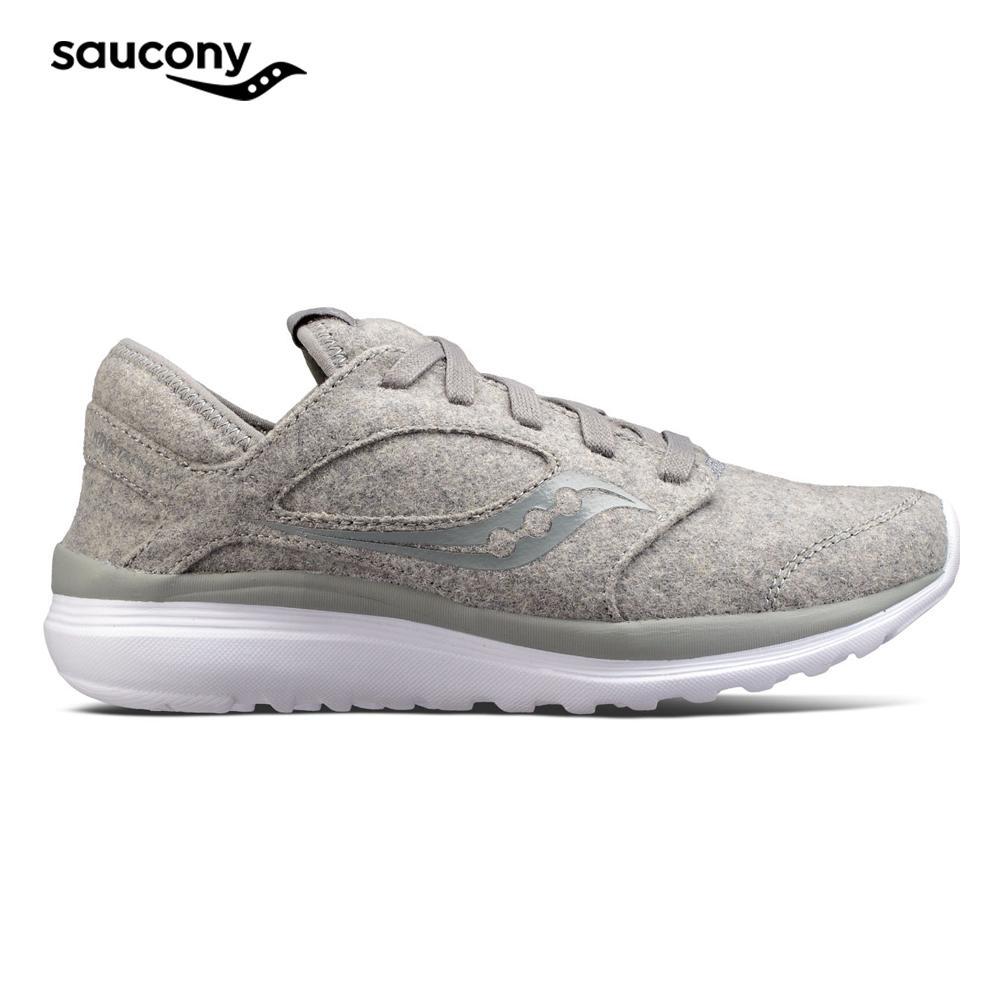 separation shoes 69acf 26724 Saucony Women's KINETA WOOL Footwear (Grey)