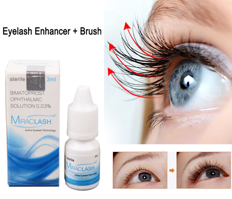 Mascara Dài Mi Chỉ 7 Ngày - MIRACLASH10ml Giúp Bảo Vệ Mi Và Bổ Sung Các Dưỡng Chất Siêu Nhỏ Eyelash Growth Treatments Liquid Serum thumbnail