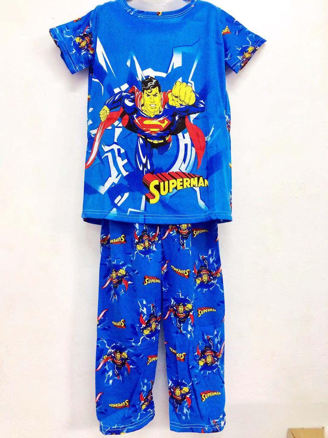 Xuebami Boys Sleepwear Pajama Set For Kids (superman) By Xuebamiph.