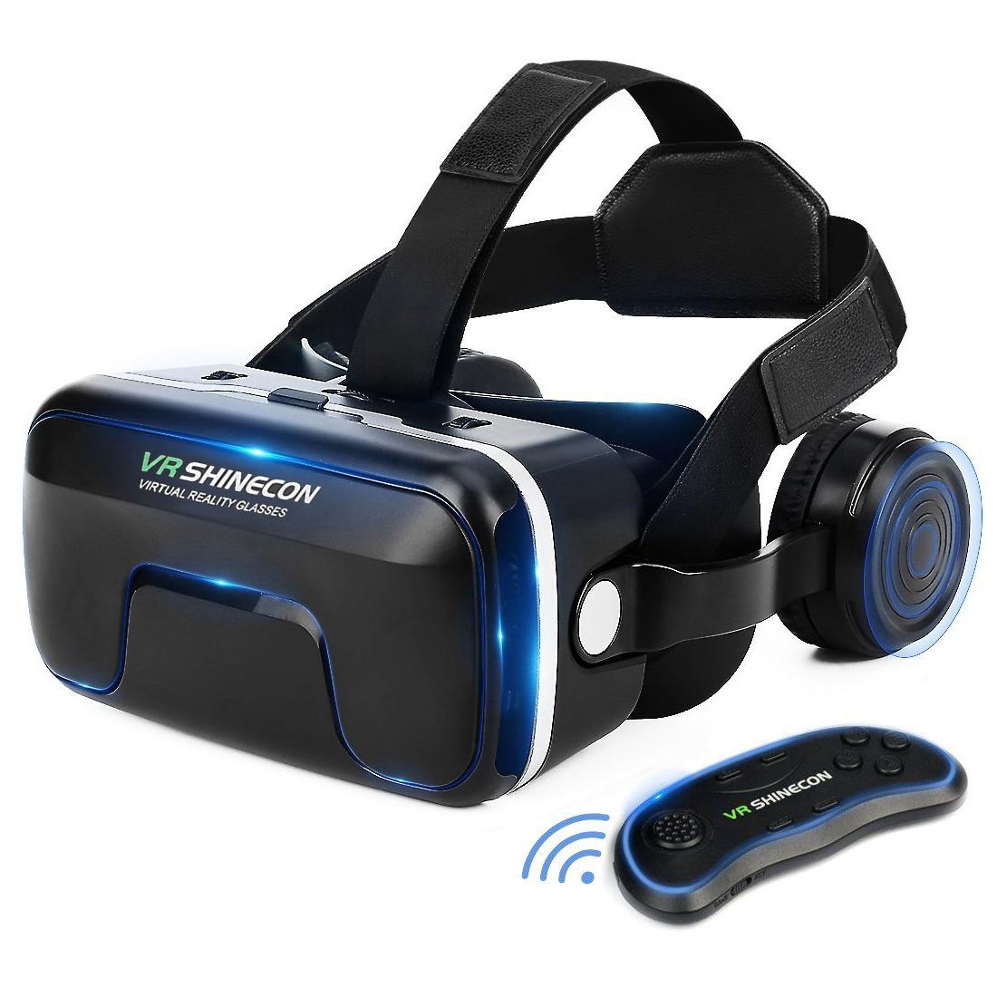 b84c14f17415 ETVR 3D VR Box Headset With Remote Controller