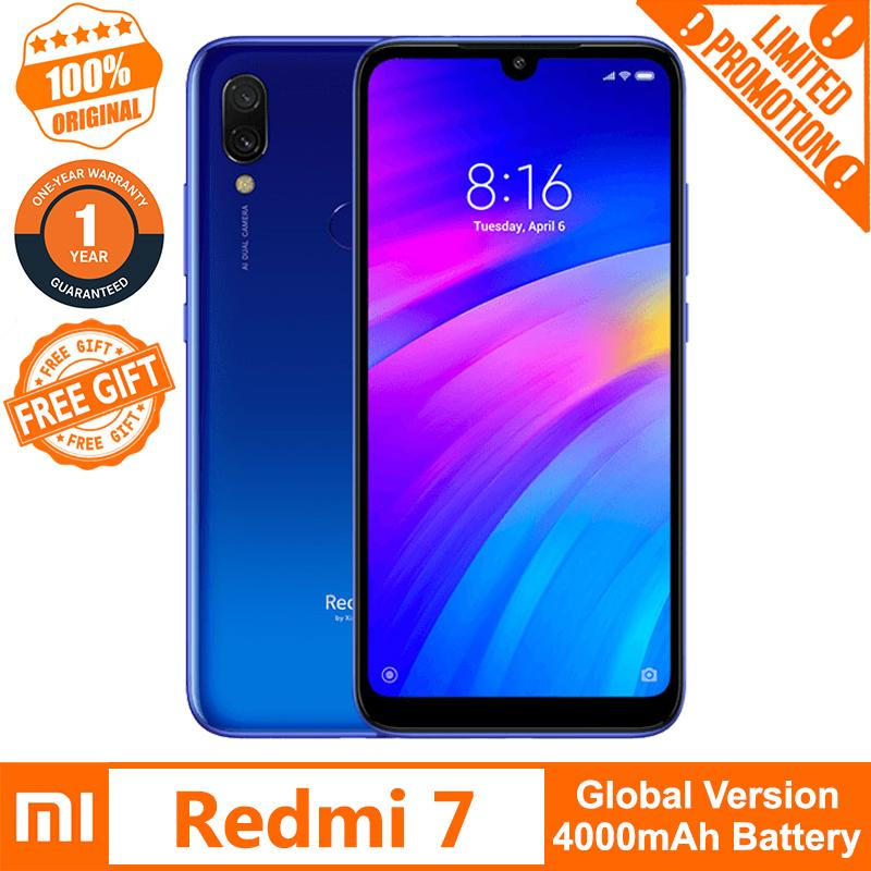 Xiaomi Redmi 7 (Global Version) 3GB RAM 32GB ROM 【Free Tempered Glass】