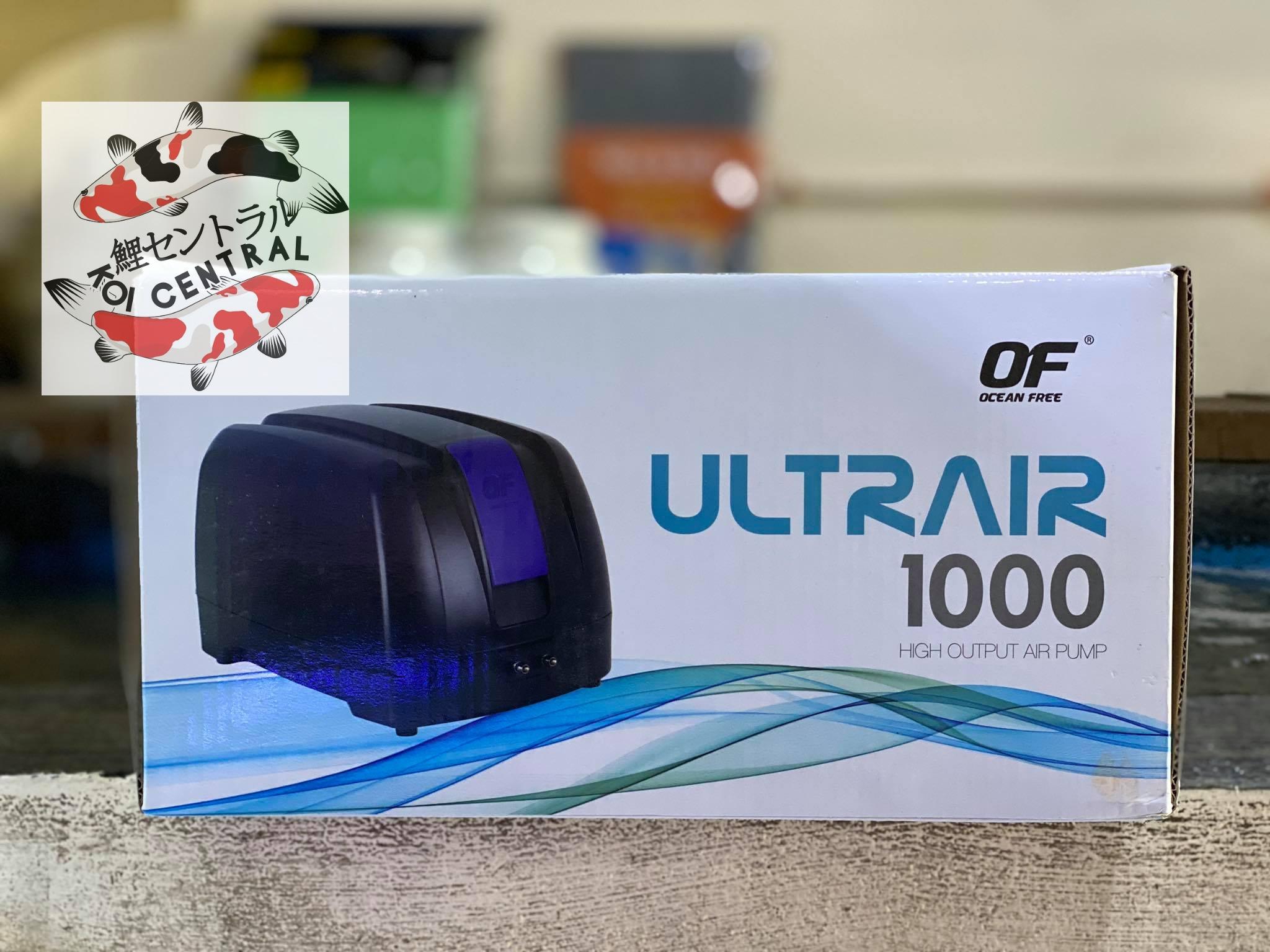 Ocean Free Ultrair 1000 Airpump Buy Sell Online Air Pumps Accessories With Cheap Price Lazada Ph