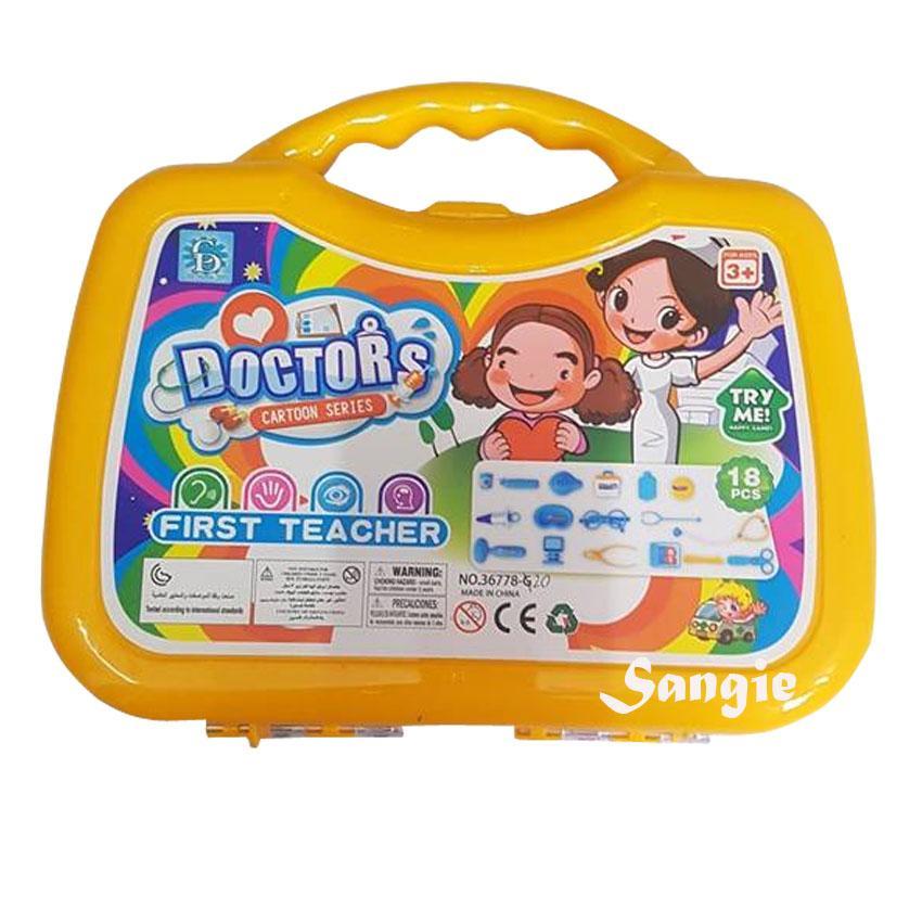56f534bab Dream Doctor Suitcase Children's Kid's Pretend Play Toy Doctor Nurse Set