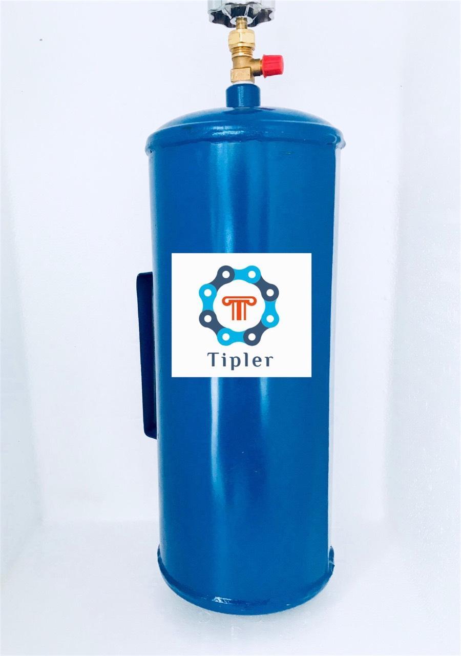 Empty Freon Tank w/ valve (2 5kg)