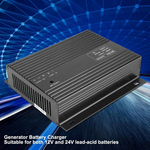 12V/24VDC 20-600Hz 10A Generator Battery Charger Genset Kit Smart Intelligent Product Model CH2810