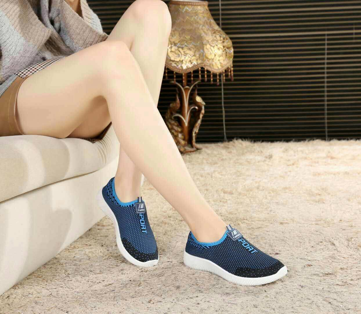 Cod Comfortable Women Running Shoes Slip-On Women Fashion Sneakers -Intl By 5stars.ph.