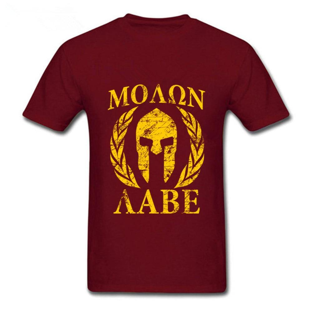 dfe8b4e0c Hot Sale Brand Molon Labe Spartan II Mens T Shirt Anime crossfit SWAG  Popular T Shirts