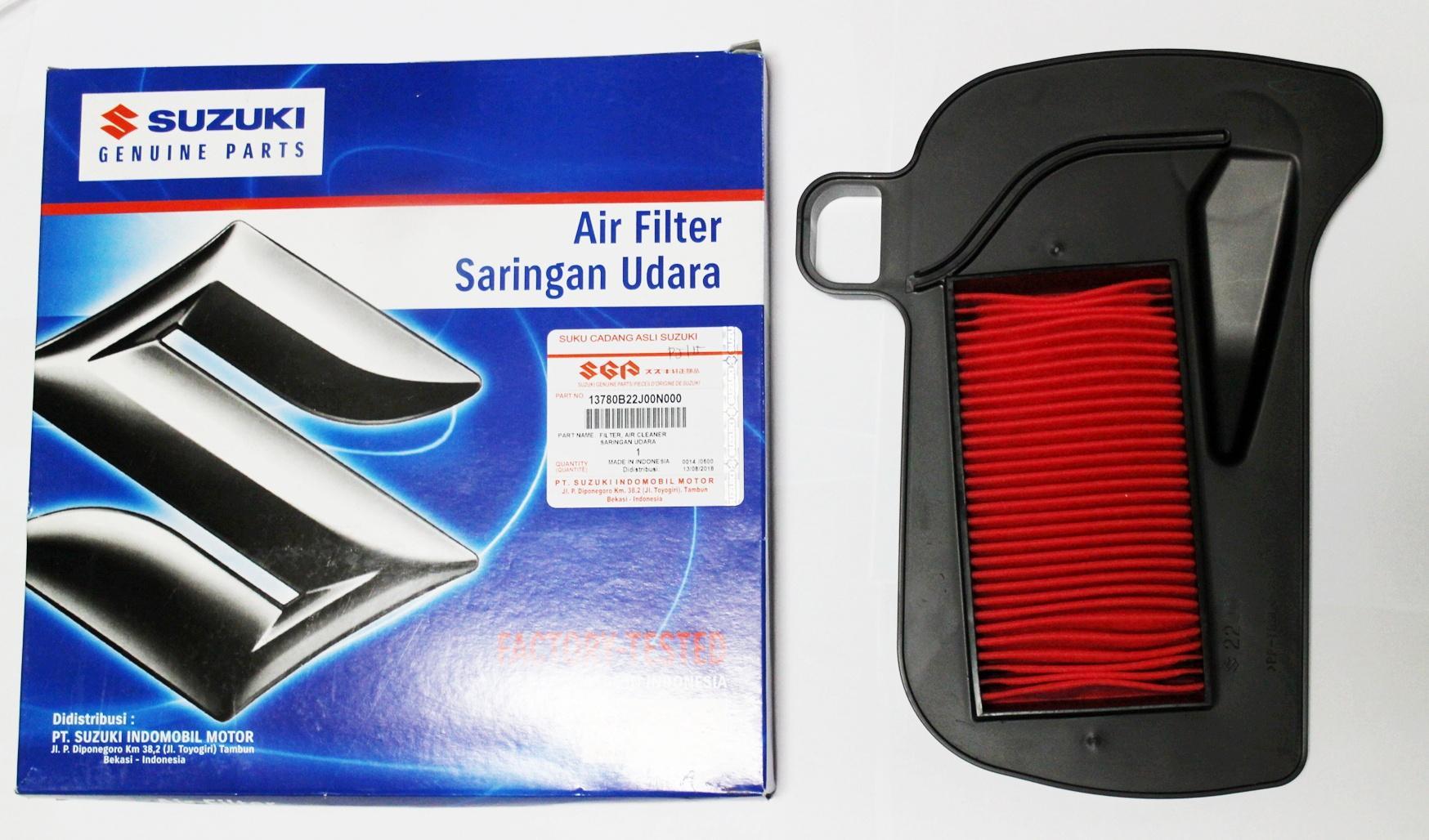 ORIGINAL SUZUKI AIR CLEANER/FILTER FOR RAIDER J 115 F I
