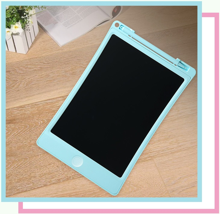 8.5 Inch Childrens Drawing Board Non-Magnetic Light Energy Small Blackboard Graffiti Monochrome LCD Writing Tablet//Electronic Writing