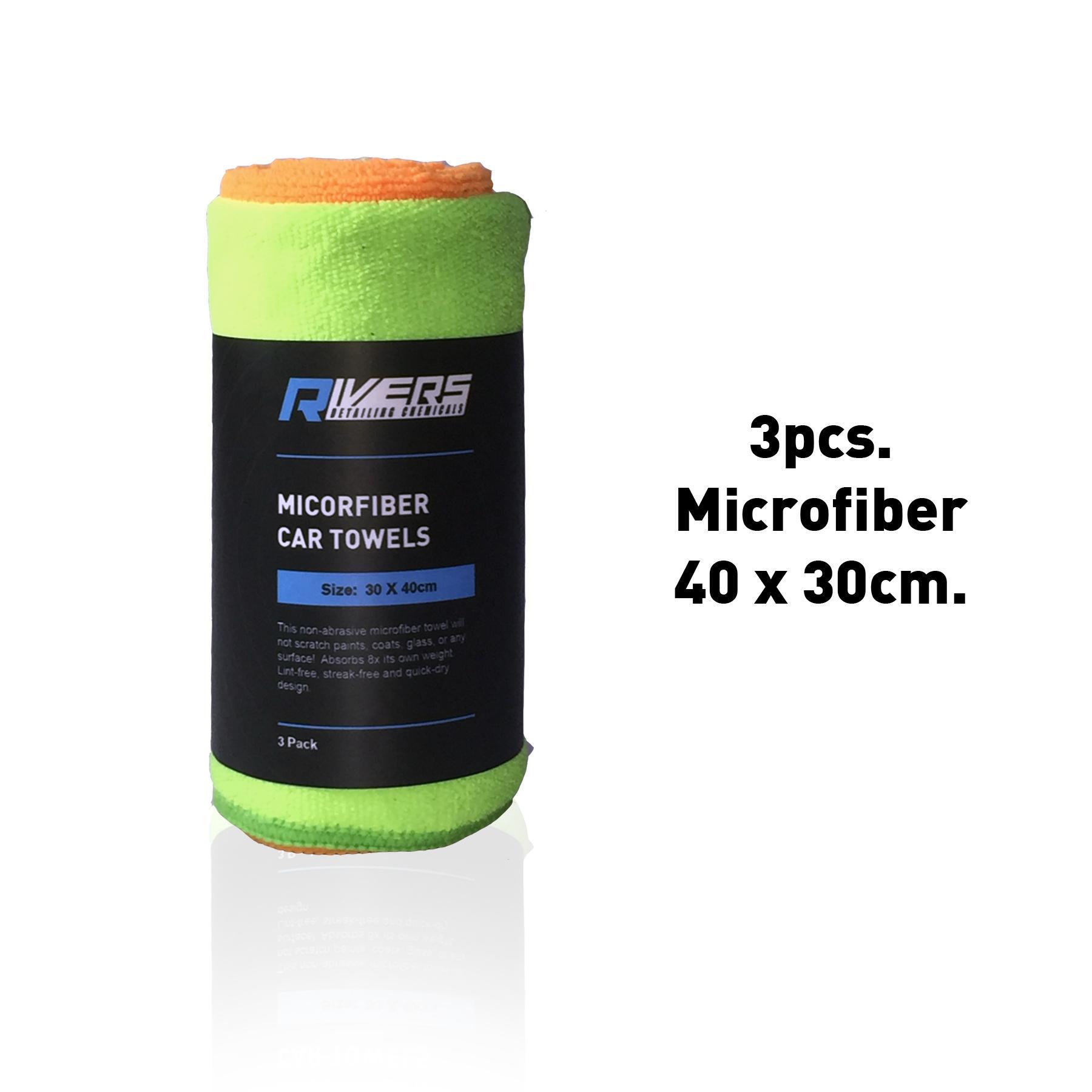 Rivers Microfiber 3 Pcs. Car Towels 40x30cm By Rivers..