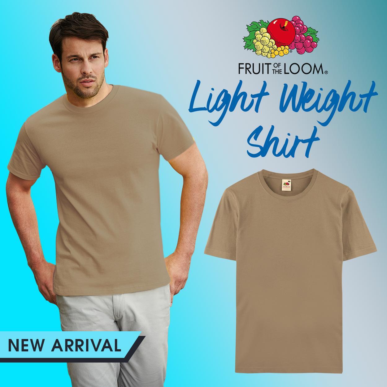 bfb834c610b86a Fruit of the Loom Unisex Classic T-shirt tshirt plain tee tees Mens t shirt