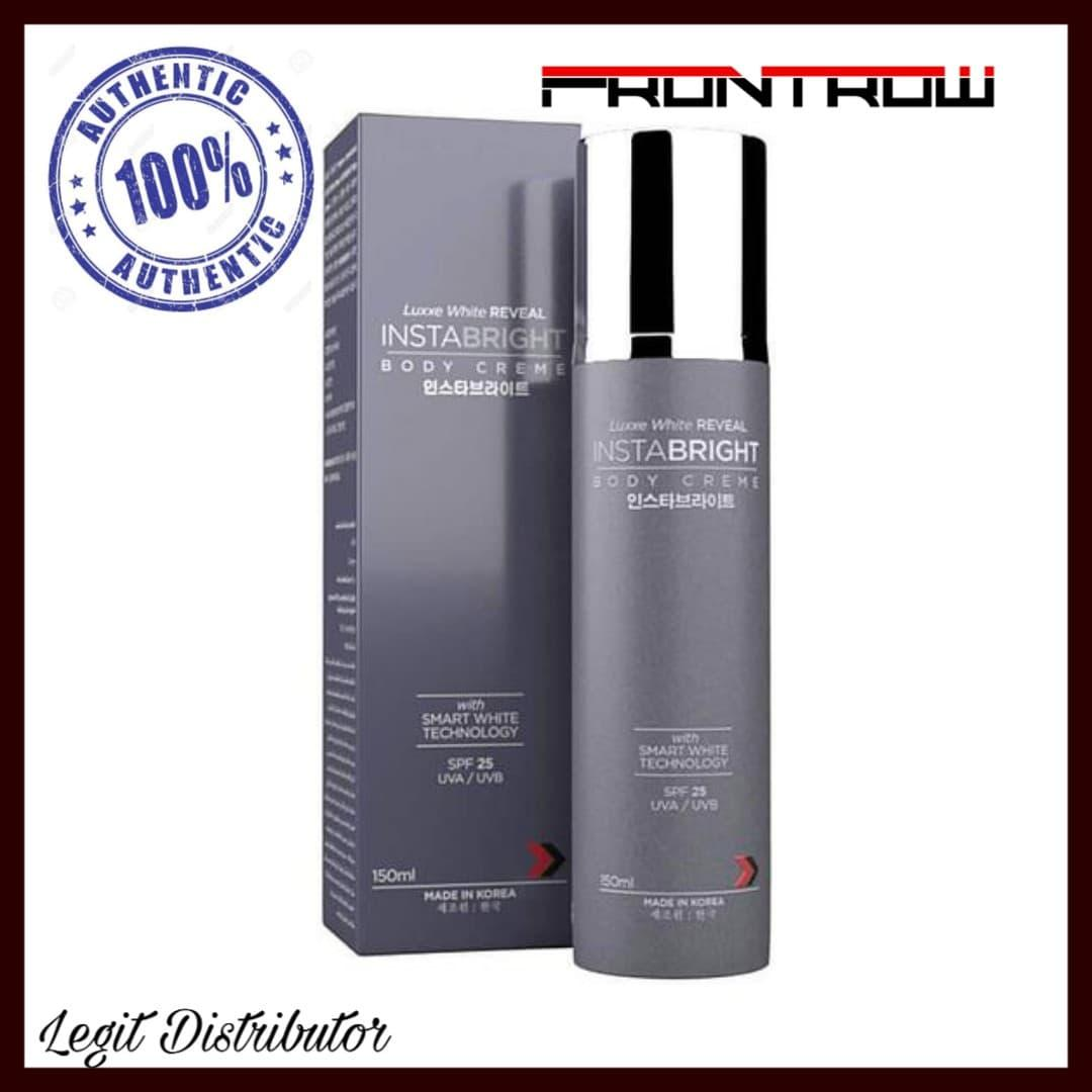 Luxxe White Reveal Instabright Body Creme Lotion - Spf 25 By Legit Distributor.