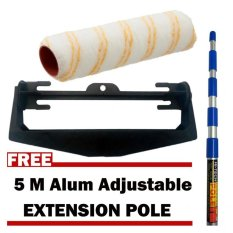 7 Inch Yoke Paint Roller Handle with Polyamide Cover with Free 5 m Aluminum Extension Pole Philippines
