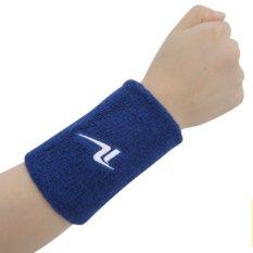 1 Pair Cotton Material Sweat Towel Bracers Basketball Badminton Table Tennis Yoga Warm Air - Intl By Ileago.
