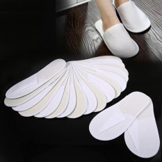 10 Pairs Disposable Slippers Travel Hotel Slippers - intl