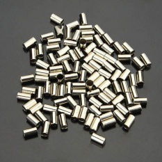 100pcs Cycle Metal Brake Cable Housing Ferrule End Crimp For Part Silver - Intl By Michelle Trading.
