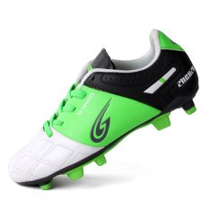 2017 Hotsale Kids Boys AG Sports Soccer Shoes Football Game Cleats Outdoow  Lawn Soccerway Boots botas 964e21ab780e1