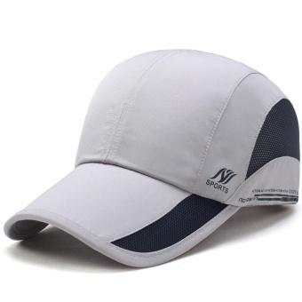 835897a70b2 2017 Men Women Outdoor Sport Baseball Mesh Hat Running Visor Quick-drying  Cap - intl