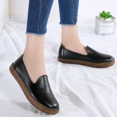 2018 Trendy Women Driving Slip On Shoes Suede Leather Anti Garden For