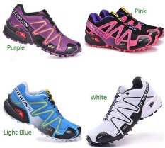 PHP 3.882 2018 Original Outdoor Hiking Breathable Shoes Salomonn Speed  Cross 3 Sneakers Women s ... fb04491823