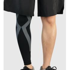 2pcs Long Knee Support Basketball Elastic Sports Leg Wrap Bandage Sleeve Guard Knee Brace Protector Pad