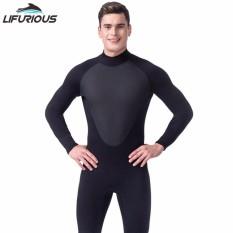 3MM Neoprene Scuba Dive Wetsuit For Men Cool Black Spearfishing Wetsuit Surf Diving Equipment Split Suits