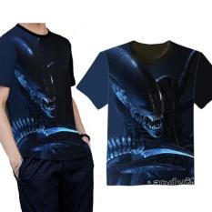 f1e04030843834 Alien Covenant Alien 2017 T Shirt Tops Casual Sports Tops Model Cosplay  S-3XL