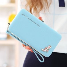 Amart Lovely Lady Wallets Long Wallets Purses Clutch Bags Phone Case For iPhone 6 Plus Lady