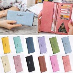 Amart Women Fashion Purse Big Long Wallets PU Leather Clutch Bags Cards Holder Wallet - intl