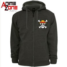 9cf1e60b2b3cd ANIME ZONE ONE PIECE Anime Straw Hat Pirates Unisex Zip-Up Outdoor Hoodie  Jacket (