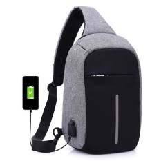 22a464802ca6 Anti Theft Sling Bag Messenger Bags Crossbody Slings Shoulder Chest Bags  Anti-theft Water Repellent